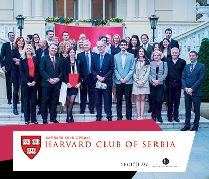 Harvard Club of Serbia Gecić Law